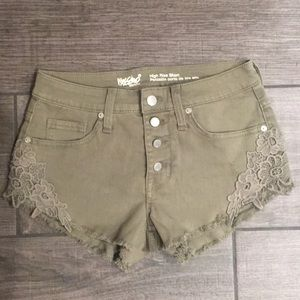 Mossimo Army Green Shorts
